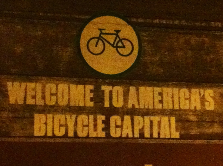 It's so great to live in Portland OR. I love a good bike ride.