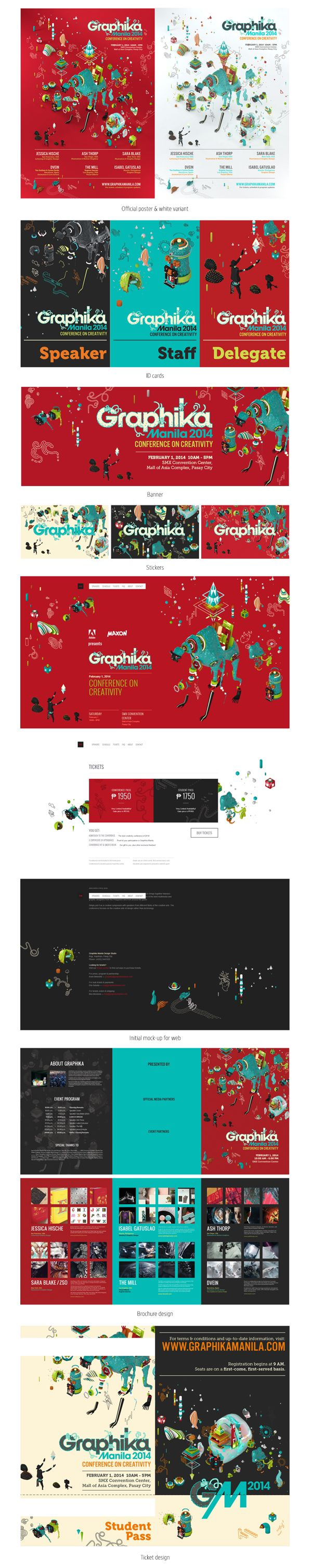 Poster design guidelines - Graphika Manila Is The Premiere Design Conference In The Philippines The International Speakers For This Year Were Jessica Hische Ash Thorp The Mill
