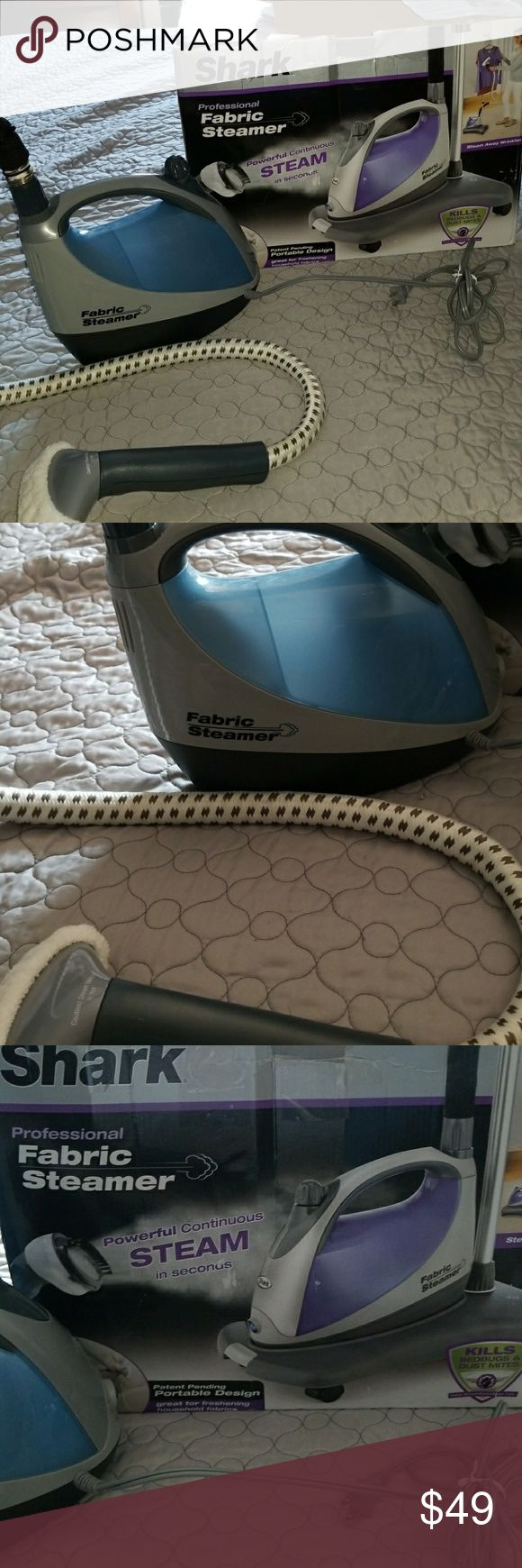 Professional Fabric Steamer Professional Steamer works on clothing, furniture, upholstery. Used once. SHARK Other