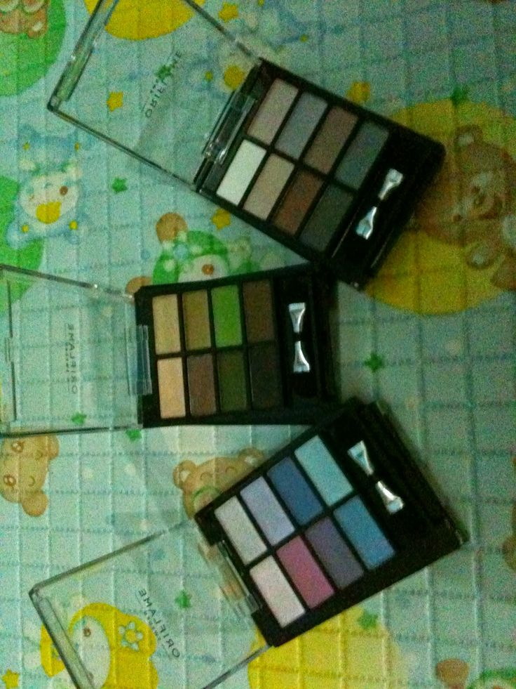 Ginbers Butik: Review Pure Colour Eyeshadow Palette