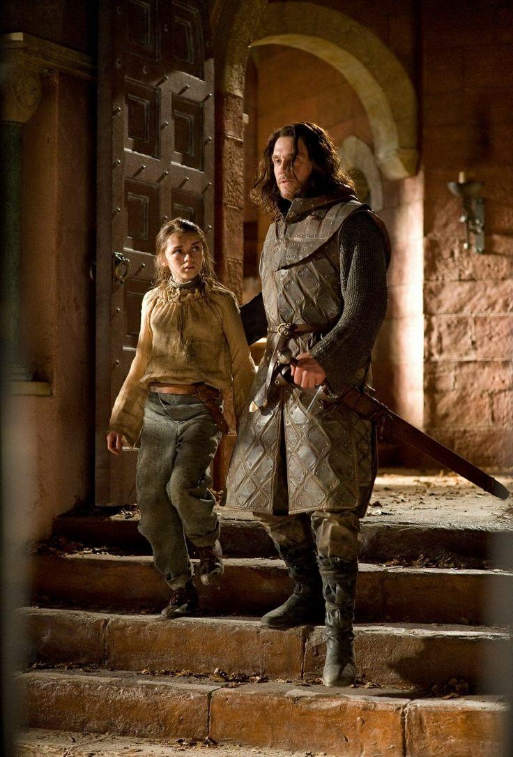 Game of Thrones Season 1 Episode 5 Still Arya stark