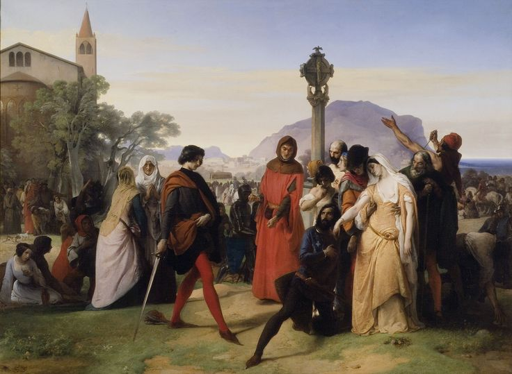 Francesco Hayez, I Vespri siciliani, 1822