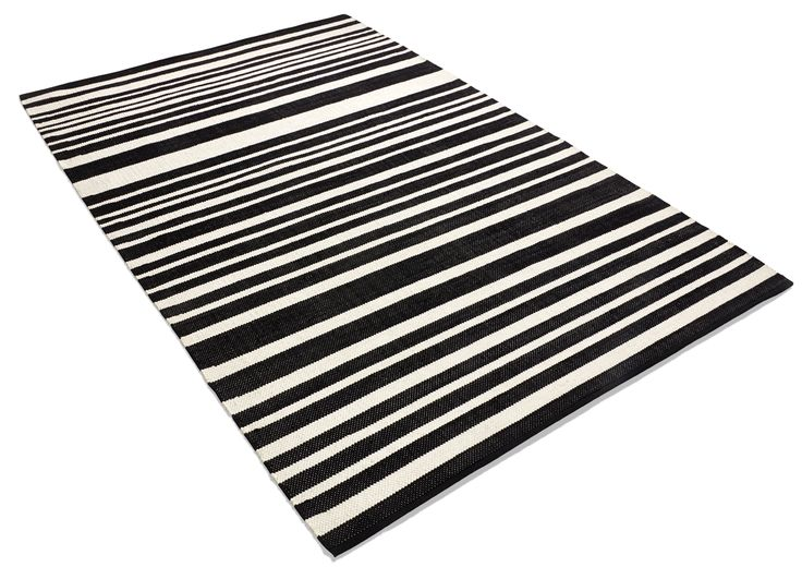 SILTA-puuvillamatto 140 X 200 cm Lajitelma musta