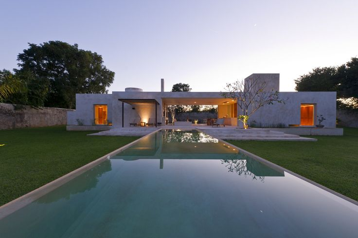 Casa Sisal - Hacienda Sac Chich / Reyes Ríos + Larraín Arquitectos