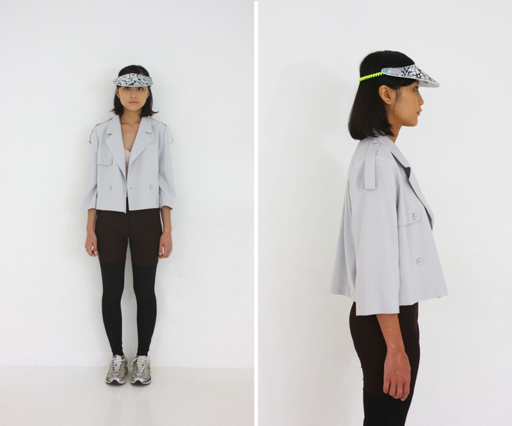 al,thing - Short trench coat