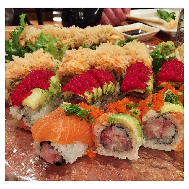 Auf gehts zum Sushi-Essen