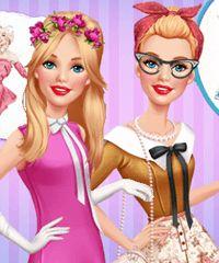 Barbie Vintage Fair Dress Up Game
