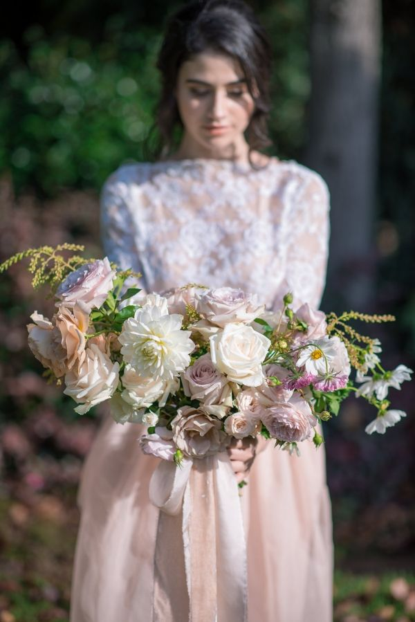 The Ethereal Bride Floral Filled Styled Shoot Wedding 2019 Trends