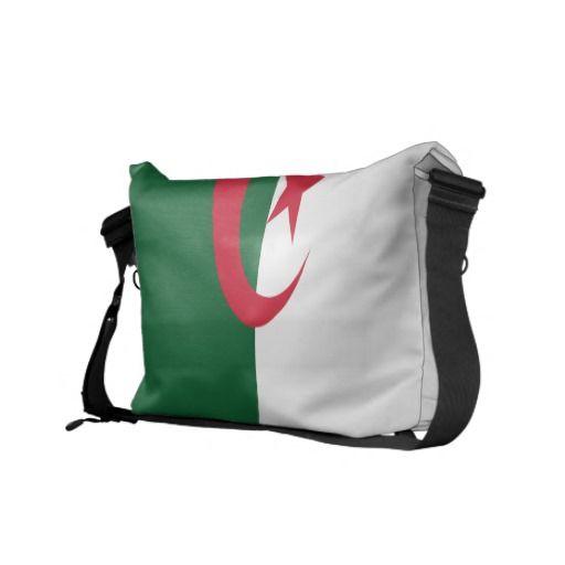 Algeria Flag Messenger Bag
