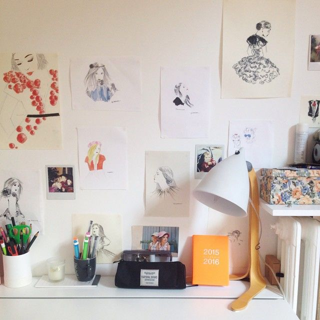 #penséesbycaro décore la chambre de son petit bout avec notre lampe Cornette par Tsé & Tsé !