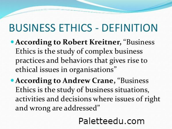 Business Ethics Definition Examples And Social Responsibility
