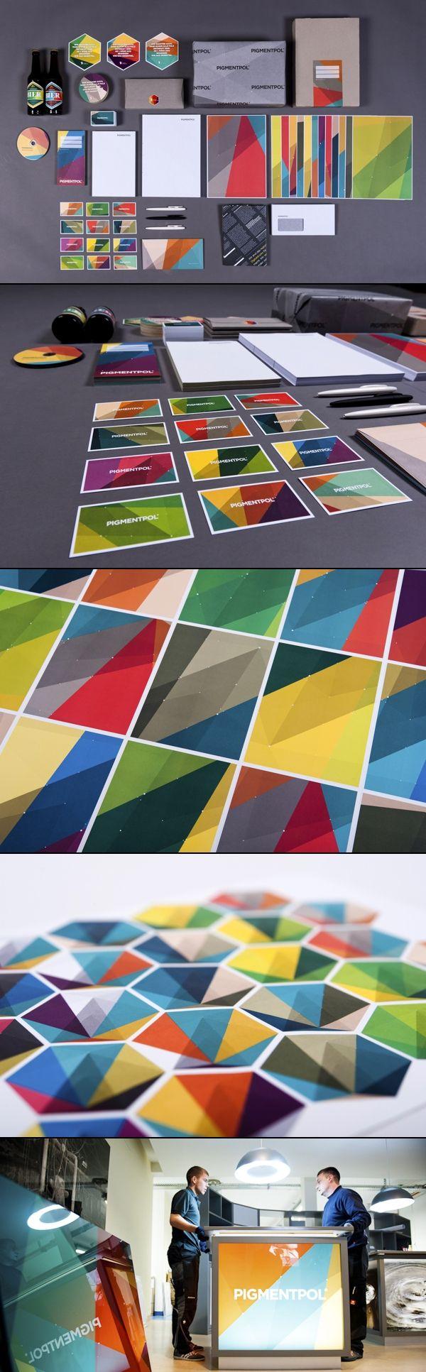 Pigmentpol via Behance #identity #packaging #branding PD