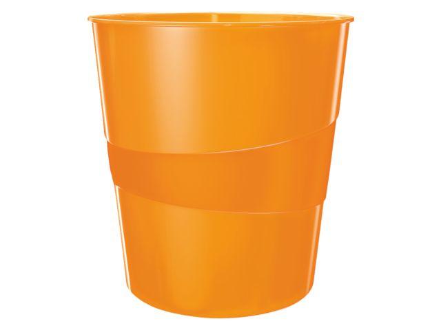 Bij een oranje kantoor hoort een oranje prullenbak... ❤ #DKVH