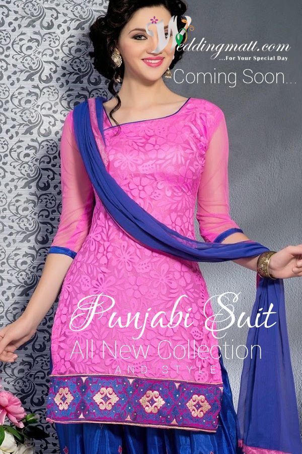 Punjabi Suits All New Collection & Style @ weddingmatt.com ‪#‎WeddingMatt‬ ‪#‎WeddingCollection‬ ‪#‎DesignerSuits‬  Coming Soon:- http://weddingmatt.com/