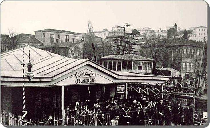 Besiktas iskelesi 1880'ler