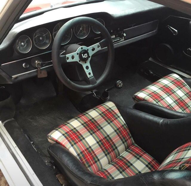 porsche 911 plaid interior porsche pinterest interiors plaid and porsche