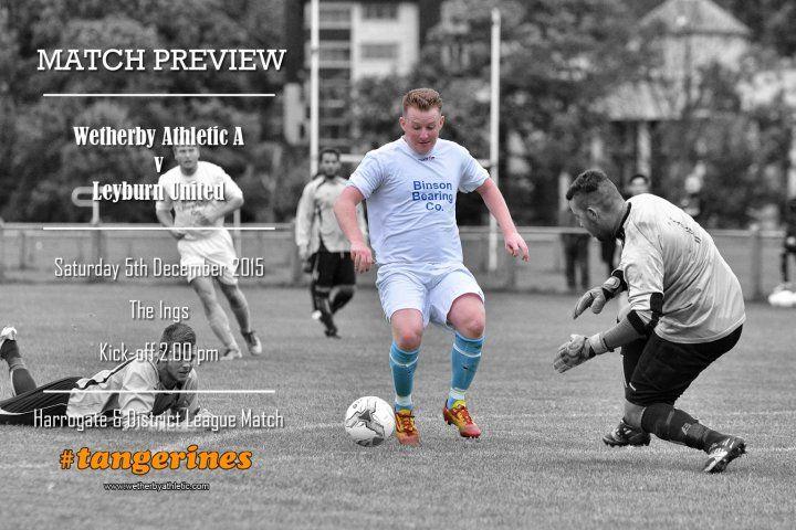 Match Preview – Leyburn United - News - Wetherby Athletic FC: http://www.wetherbyathletic.com/news/match-preview-leyburn-united-1535327.html