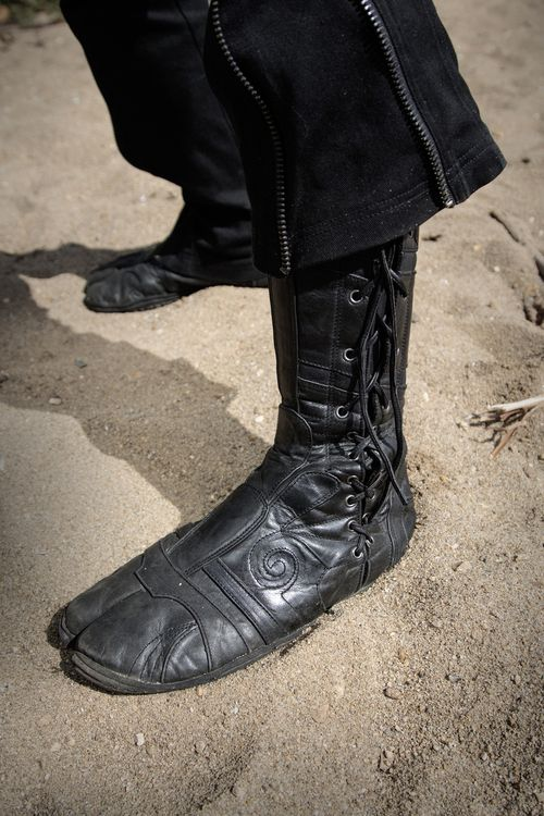 Spiral Tabi Boots by Ayyawear | Costuming - Footwear ...
