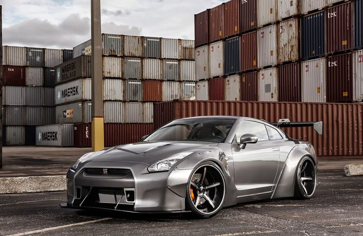 Exclusive Motoring Nissan GT-R Black Edition Liberty Walk ...