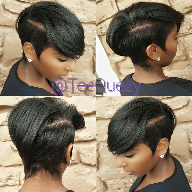Unique hairstyles for cute black women http://www.shorthaircutsforblackwomen.com/top-50-best-selling-natural-hair-products-updated-regularly/ #BlackWomenHaircuts