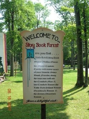 Storybook Forest. Idlewild park, Pennsylvania.