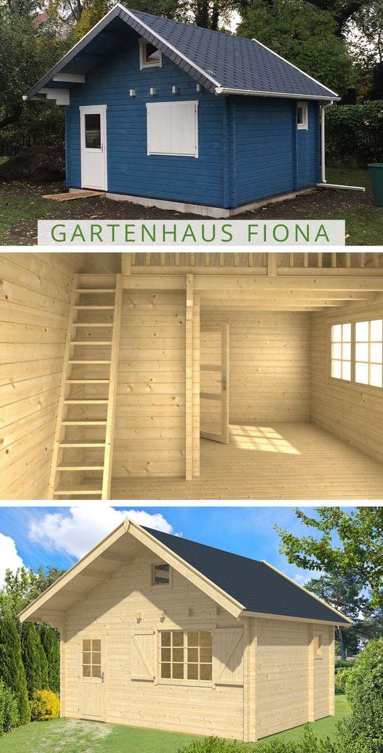 Ein Gästehaus im Garten. Mit dem Gartenhaus Fiona, welches