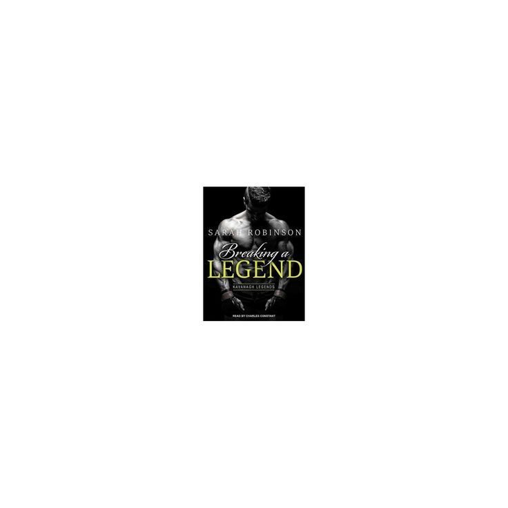 Breaking a Legend (Unabridged) (CD/Spoken Word) (Sarah Robinson)