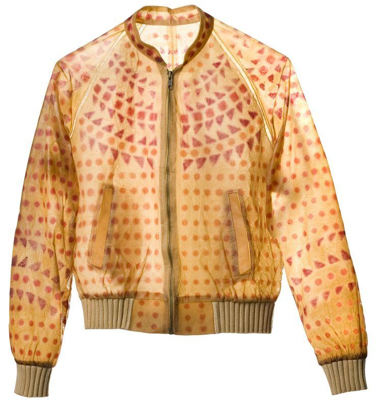 This jacket was made with kombucha!