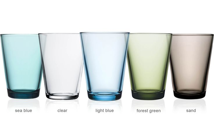 kartio 13oz. glass tumbler 2-pack