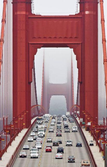 The Golden Gate Bridge, San Fransisco