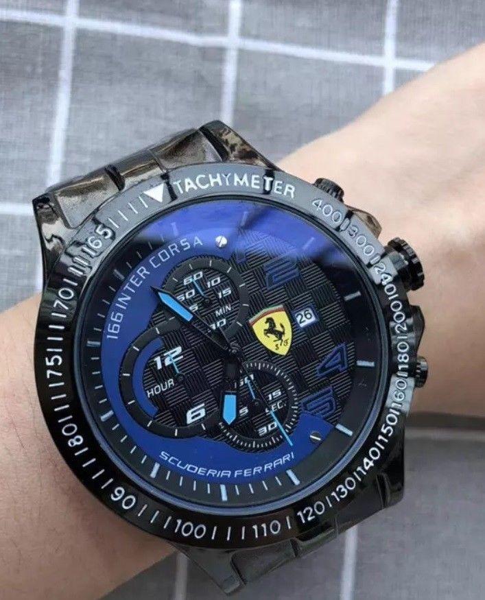 reloj sport scuderia ferrari F1 166 inter corsa con correa silicona azul d97f365016c2
