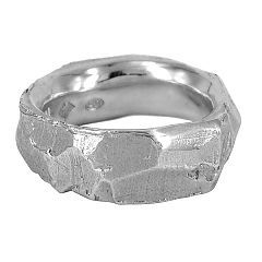 Large Explosion wedding ring in sterling silver - $320   http://www.lordcoconut.com/shop/large-explosion-ring/