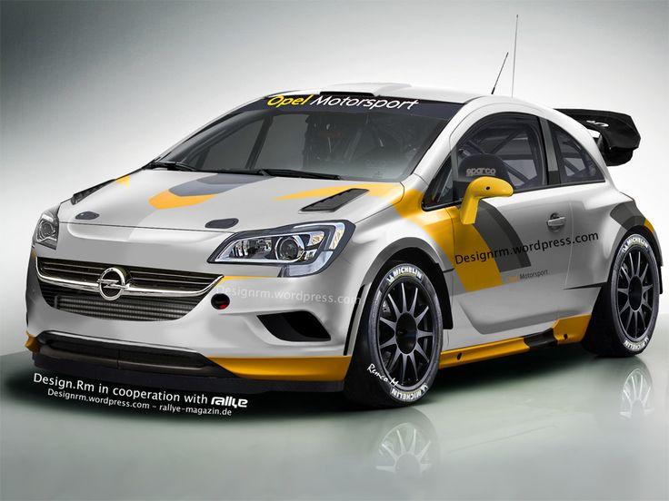 New Opel Corsa E WRC 2015 !