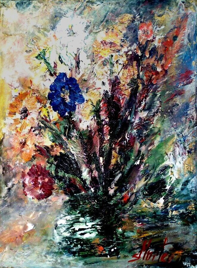 ORIGINAL OIL PAINTING ON CANVAS /  #Expressionism