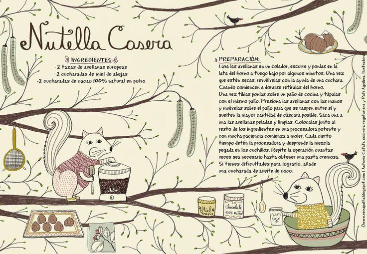 Reina Palta: Nutella Casera