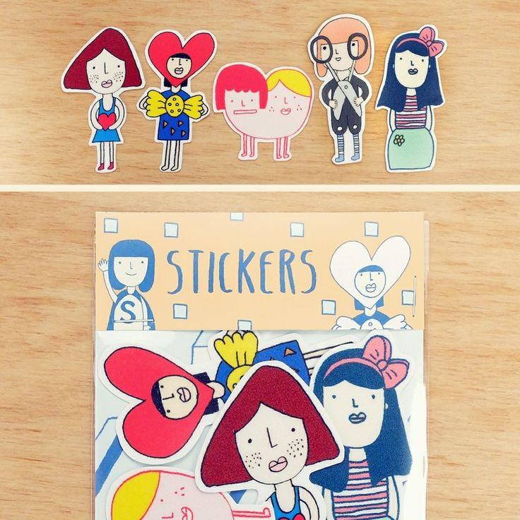 Yohand sticker set set of 5