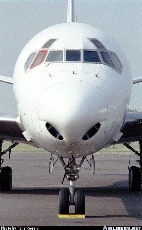 Iberia Cargo (Cygnus Air) - McDonnell Douglas DC-8-62(F) - Southend - Rochford (SEN / EGMC) - UK - England, May 14, 2000 - Photographer: Tony Rogers