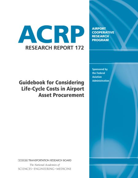 Guidebook for Considering Life-Cycle Costs in Airport Asset Procurement  Final Book Now Available  TRB's Airport Cooperative Research Program (ACRP) Research Report 172: Guidebook for Considering Life-Cycle Costs in Airport Asset Procurement explores how other industries use the total cost of ownership (TCO) approach for initial procurement and how to integrate this into future airport procurement practices. A TCO Tool and five instructional videos on how to use the TCO Tool accompany the…