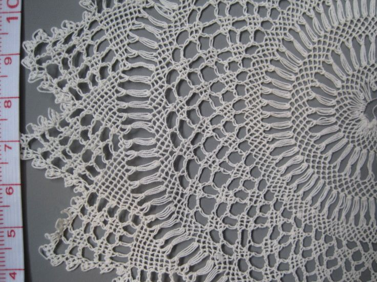 Armenian lace doily 3 detail