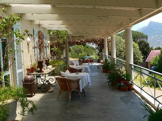 Verandah at Frogg's Leap Bed & Breakfast in Hout Bay, South Africa