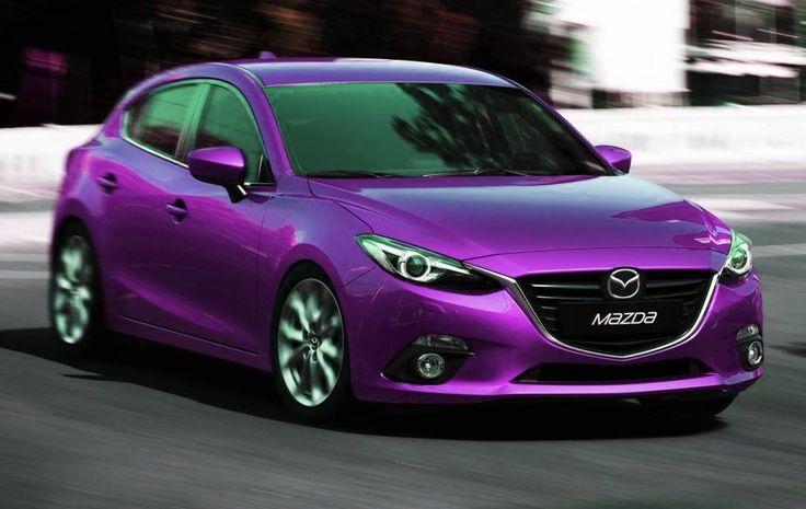 purple mazda3 hatchback - Google Search