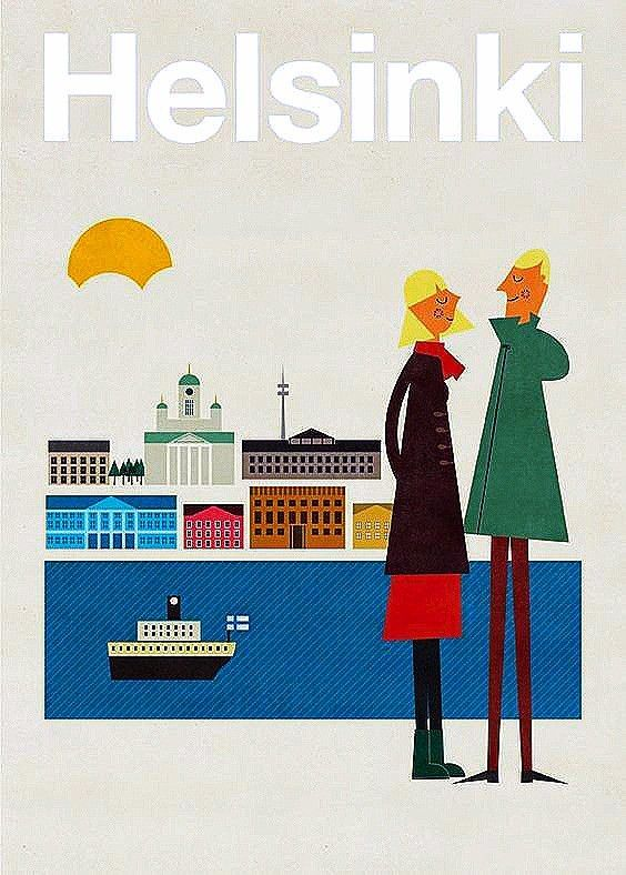 Image result for Helsinki antique posters
