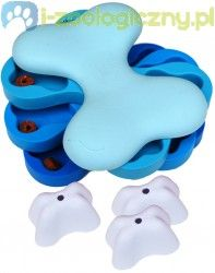 NINA OTTOSON Dog Tornado Plastic - edukacyjna zabawka dla psa