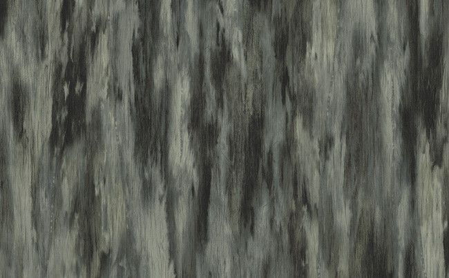 Faux Stripes Wallpaper in Black and Metallic design by Seabrook Wallcoverings
