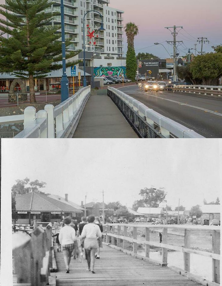 Mandurah old bridge.
