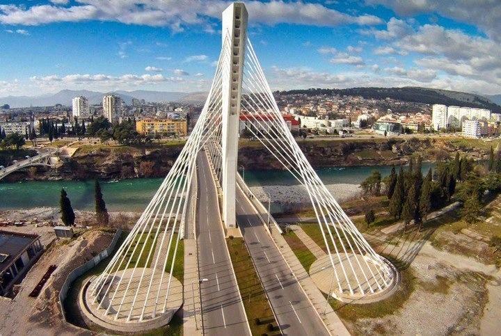 Podgorica, capital of montenegro