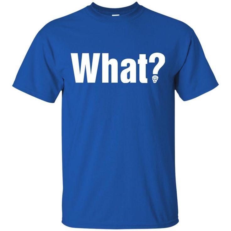 Stone Cold Steve Austin What Logo T-shirt-01 G200 Gildan Ultra Cotton T-Shirt