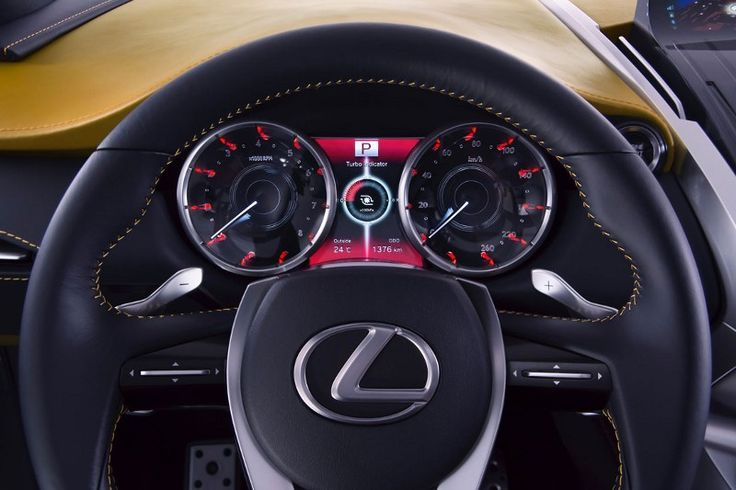 Lexus LF-NX 2014 Concept