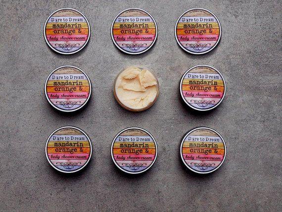 Body Shower Cream Orange Mandarin