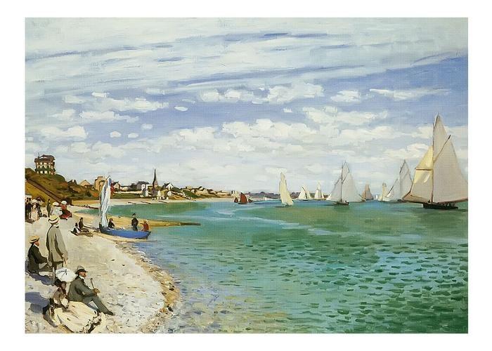 Claude Monet Le Bassin D Argenteuil Artist Monet Impressionist